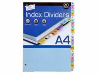 INDEX A4 A-Z DIVIDERS