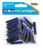INK CARTRIDGES 25PK BLUE