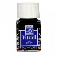 GLASS PAINT VITRAIL 50ML BLUE