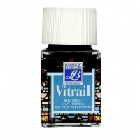 GLASS PAINT CYAN 50ML VITRAIL