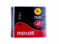 MAXELL DVD-R  5 PACK