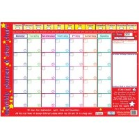 MONTHLY PLANNER WALL CHART