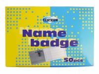 NAME BADGES BOX 50