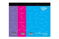 REFILL PAD A4 140 PAGE GIRLS