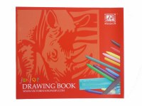 RHINO DRAWING BOOK 24 PAGE