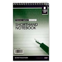 SHORTHAND NOTEBOOK 160 PAGE