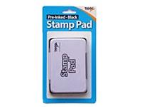 STAMP PAD BLACK PRE-INKED