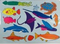 STENCIL FISH