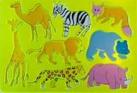 STENCIL ZOO ANIMALS