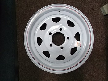13X4.5 Spk 5H 4.5 Wh Str Wheel