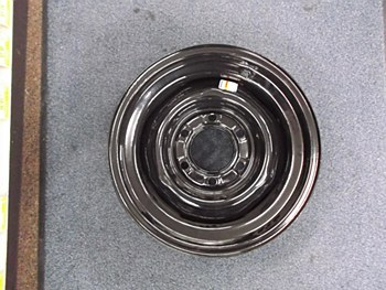 15X6 Pln N 6H 5.5 Blk Wheel