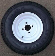 20.5/65-10C 4H Wh K399 Tire/Wheel