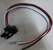 3 Wire Plug RT Angle