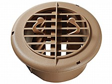4'' Dampered Vent - Beige