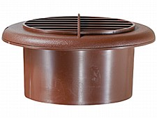 4'' Vent Dampered - Walnut