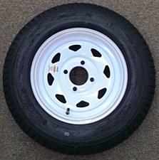 530-12C/4H Spk WhK353 Tire/Wheel