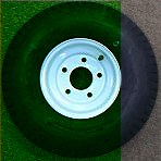 570-8 B 5H Wh  K353 Tire/Wheel