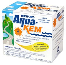 Aqua-Kem Holding Tank Chemical 6 8oz Bottles