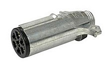 Connector-7-Way Metal Pin Plug