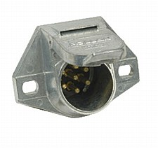 Connector-7-Way Metal Socket