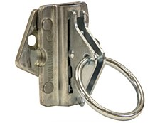 Swivel E-Track Single with Rope Ring