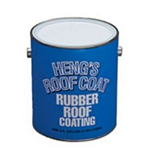 Heng's Rubber Roof Coating Gallon