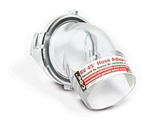 Clear Sewer Hose Adapter