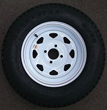 ST 175/80 D 13 C 4H SKWH Tire/Wheel