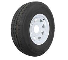 Tire/Wheel 235/80/16 8 Lug White