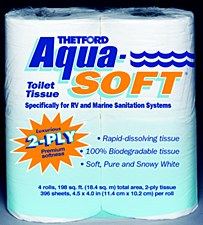 Aqua-Soft 2 Ply Toilet Tissue