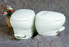 Bravura Low Profile White Toilet