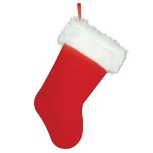 Plush Christmas Stocking