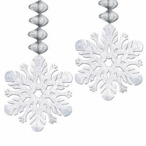 Foil Snowflake Dangler