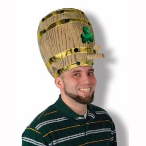 Shamrock Beer Barrell Hat