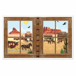 Western Window Prop