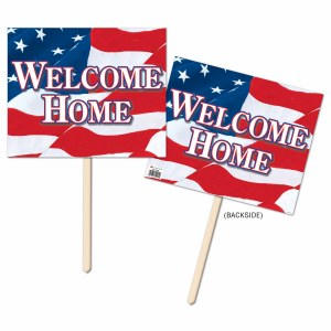 Welcome Home Yard Sign