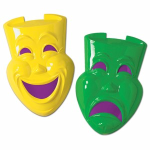Comedy and Tragedy Faces