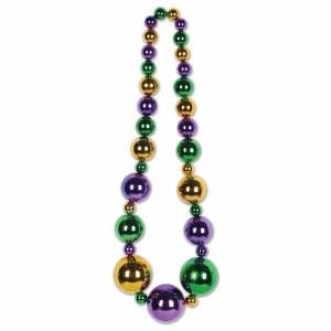 Mardi Gras King Size Beads