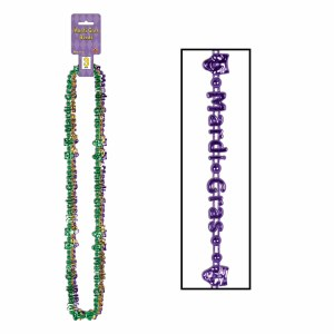 Mardi Gras beads of Expression