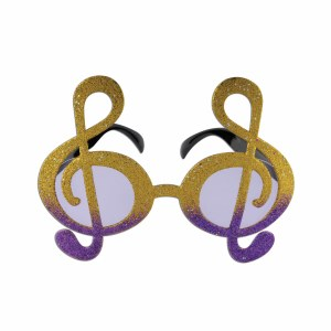 Musical Note Gold and Purple Fanci- Frames