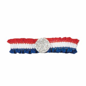 Red White and Blue Armbands