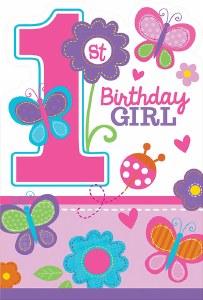 Sweet 1st Birthday Invitations