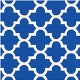 Blue Mosaic Beverage Napkin CASE (288 Napkins)