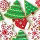 Holiday Treats Beverage Napkin CASE (192 Napkins)