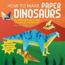 How to make paper Dinosaurs