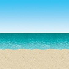 Ocean & Beach Backdrop