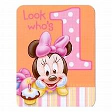 Minnie 1st 8ct invitations