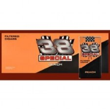 38 Special Filter Cigars Peach