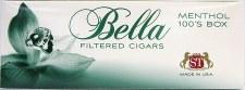 Bella Filtered Cigars Menthol