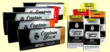 Captain Black Filtered Cigars Peach Rum